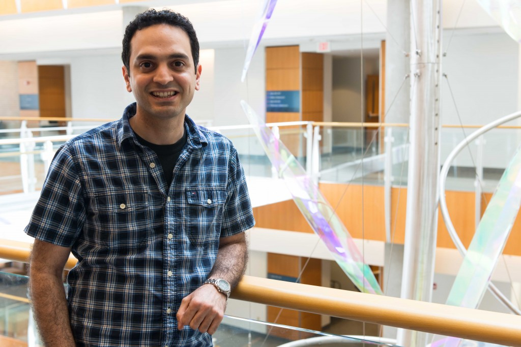 Lefteris Michailidis received the 2013 Distinguished Dissertation Award for his work to understand EFdA, a new drug that shows promise to treat resistant HIV viruses with fewer side effects.