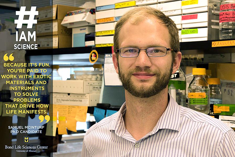Samuel McInturf, Ph.D. candidate